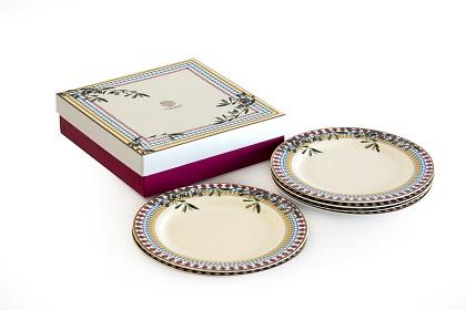 """alt=""""zaitoon desert plates sets of six"""""""